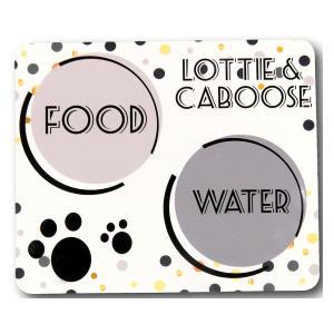 Personalised Cat Food Mat