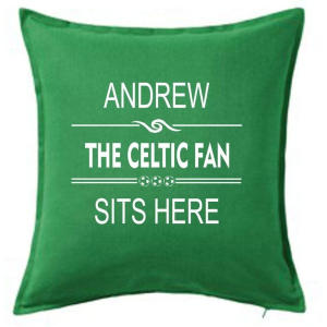 Celtic Fan Personalised Cushion Cover