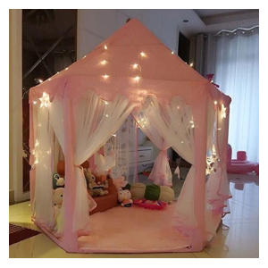 Princess Castle Tent With Light
