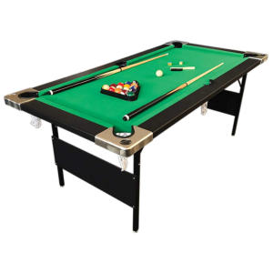 6 Ft Green Pool Table