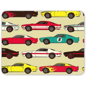 Retro Cars Mouse Mat