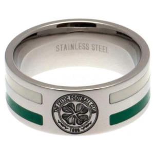 Celtic FC Stainless Steel Stripe Ring