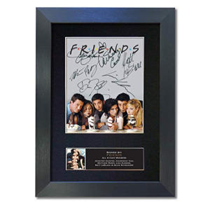 Friends Signed Autograph Mounted Photo Reproduction