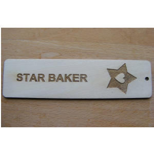 Bake Off Star Baker Bookmark