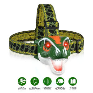 LED T-Rex Head Torch