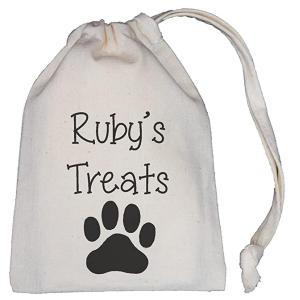 Personalised Dog Treats Bag
