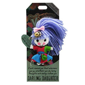 Watchover Voodoo Daughter Keychain