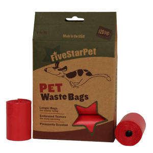 Dog Waste Bags 120
