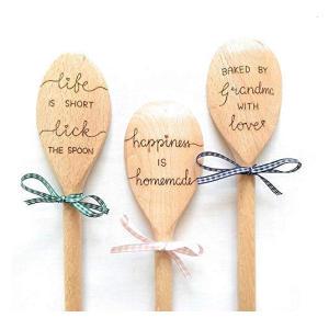 Personalised Engraved Wooden Spoon