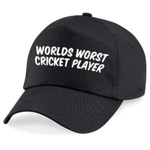 World's Worst Cricket Player Baseball Cap