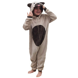 Children's Dog Pug Animal Onesie