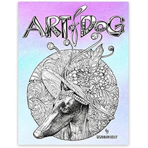 Art of Dog: A Dog Lover Coloring Book for Adult