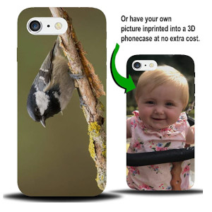Personalised Coaltit Bird Phone Case