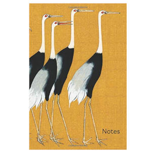 Notes: Japanese Crane Blank Journal for Nature and Bird Lovers