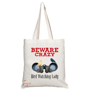 Crazy Bird Lady Bag