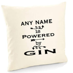Personalised Gin Lover Cushion