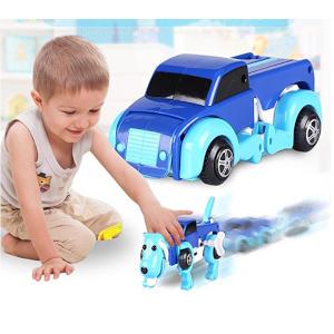 The Dog Car Transformer Toy