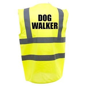 Dog Walker Hi Viz Vest