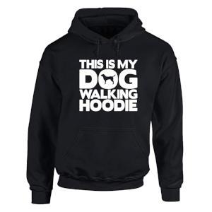 My Dog Walking Hoodie