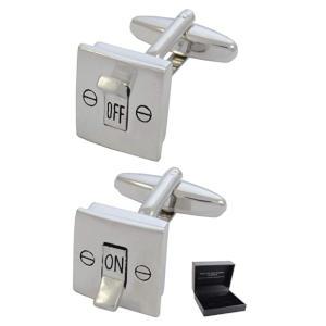 Electric Light Switch Cufflinks
