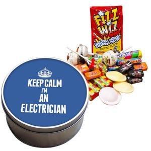 I'm an Electrician Retro Sweet Tin