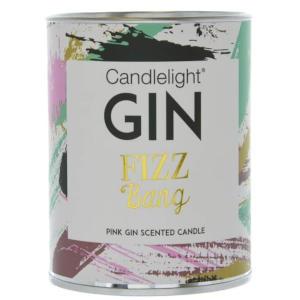 Gin Fizz Tin Candle