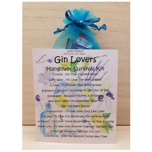 Gin Lovers Hangover Survival Kit