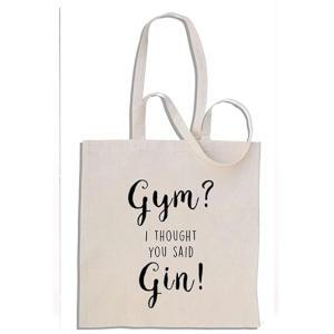Novelty Gin Tote Bag