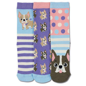 French Bulldog Socks for Girls