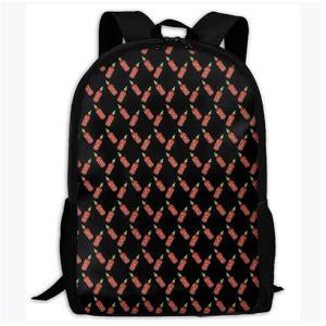 Hot Sauce Print Backpack