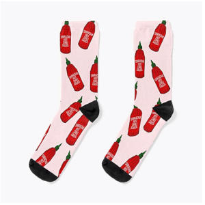Hot Sauce Novelty Socks
