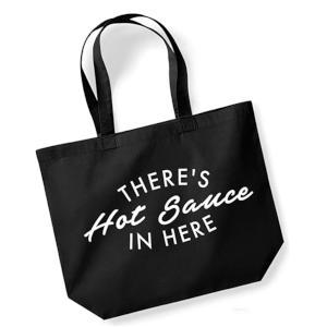 Novelty Hot Sauce Tote Bag