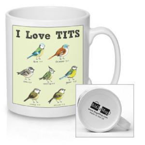 I Love Tits Mug