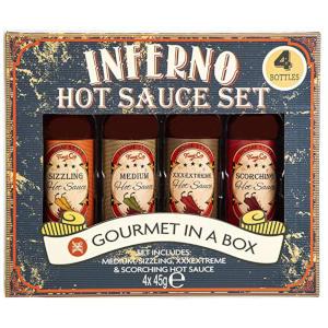 Inferno Chilli Hot Sauce Set