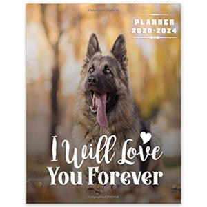 German Shepherd Dog Lovers Planner