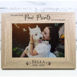 Personalised Pet Memorial Photo Frame