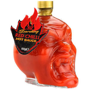 Scorching Red Chilli Devil Head