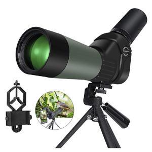 Spotting Scope 20-60x60 Zoom Bak4 Prism Monocular Telescope