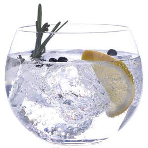 Stemless Handmade Crystalline Gin Glasses