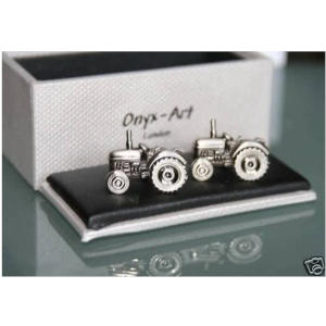 Novelty Cufflinks-Tractor Design