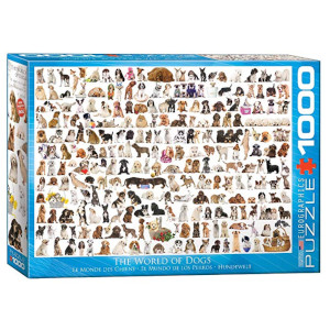 World of Dogs Puzzle - 1000 Pieces