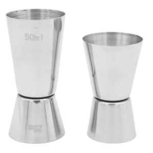 2 Stainless Steel Cocktail Jigger