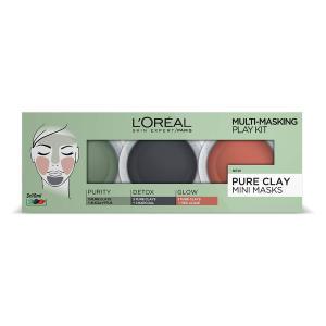 L'Oréal 3 Pure Clays Multi-Masking Face