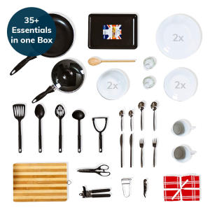 35+ Piece Kitchen Starter Kit