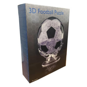 3D Crystal Puzzle - Football