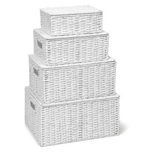 Storage Basket Hamper (Set of 4)