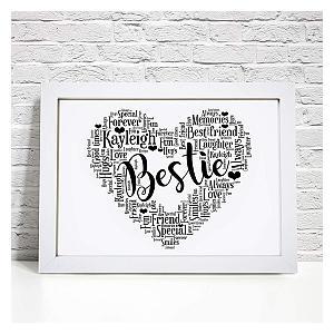 Best Friends Personalised Print
