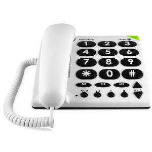 PhoneEasy Big Button Corded Telephone