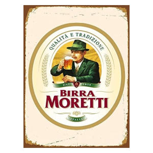 Moretti Birra Beer Lager Sign