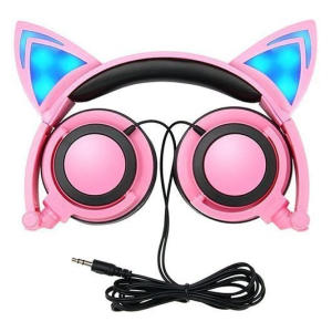 Foldable Cat Ear Earphones
